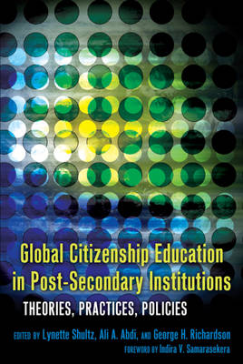 Global Citizenship Education in Post-Secondary Institutions: Theories, Practices, Policies- Foreword by Indira V. Samarasekera - Complicated Conversation 35 (Paperback)
