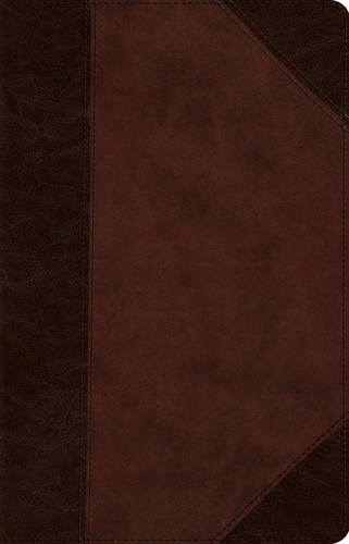 ESV Wide Margin Reference Bible (Leather / fine binding)