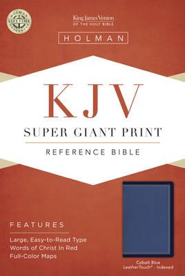 Super Giant Print Reference Bible - KJV (Leather / fine binding)