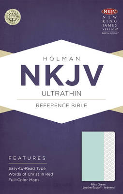 NKJV Ultrathin Reference Bible, Saddle Brown LeatherTouch Indexed (Leather / fine binding)