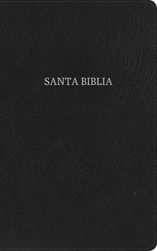 RVR 1960 Biblia Ultrafina, negro piel fabricada (Leather / fine binding)