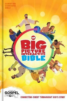 The CSB Big Picture Interactive Bible, Hardcover (Hardback)