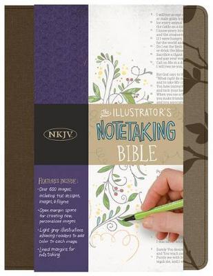 The Illustrator's Notetaking Bible: NKJV Edition, Hickory Canvas Over Board (Hardback)