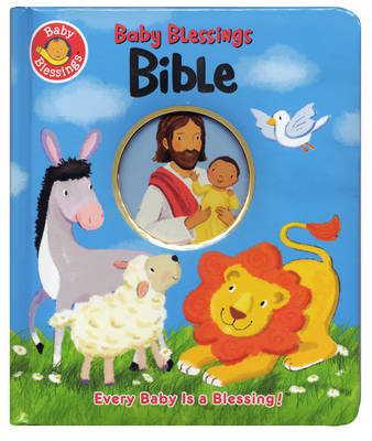 Baby Blessings Bible, Padded Boardbook (Hardback)