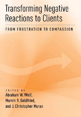 Transforming Negative Reactions to Clients: From Frustration to Compassion (Hardback)