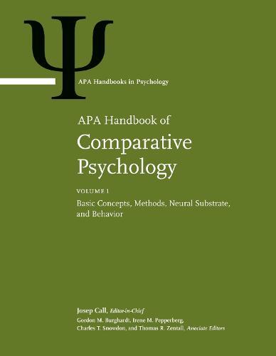 APA Handbook of Comparative Psychology: Two-Volume Set - APA Handbooks in Psychology and APA Reference Books (Hardback)