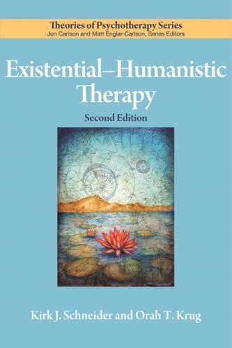 Existential-Humanistic Therapy - Theories of Psychotherapy Series (Paperback)