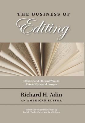 The Business of Editing (Hardback)