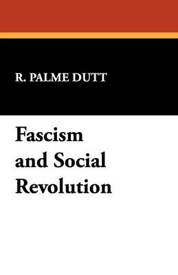 Fascism and Social Revolution (Paperback)
