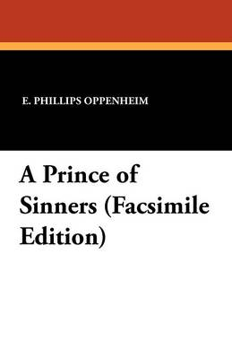 A Prince of Sinners (Facsimile Edition (Paperback)