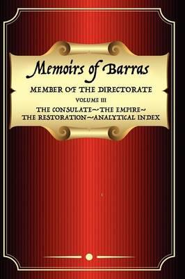 Memoirs of Barras Vol 3 (Paperback)