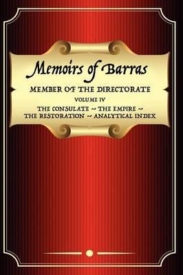 Memoirs of Barras Vol 4 (Paperback)
