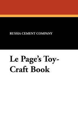 Le Page's Toy-Craft Book (Paperback)