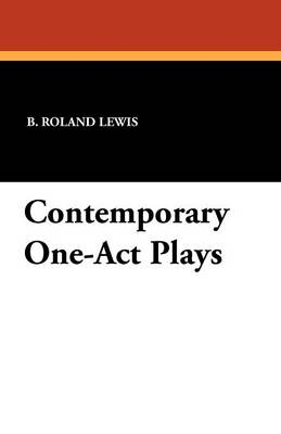 Contemporary One-Act Plays (Paperback)