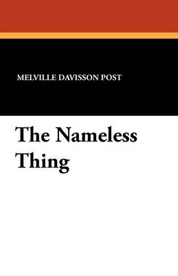 The Nameless Thing (Paperback)