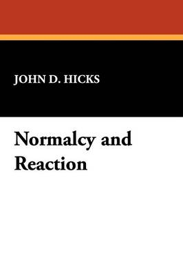 Normalcy and Reaction (Paperback)