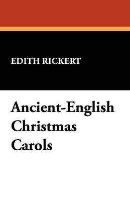 Ancient-English Christmas Carols (Paperback)