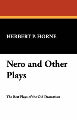 Nero and Other Plays (Paperback)