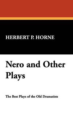 Nero and Other Plays (Hardback)