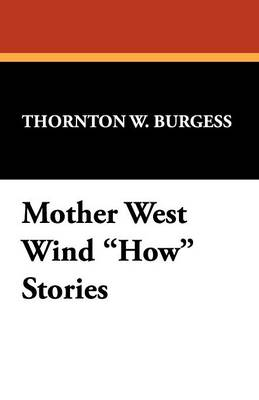 Mother West Wind How Stories (Paperback)