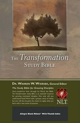Transformation Study Bible - Black Bonded Leather: New Living Translation (Leather / fine binding)