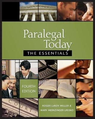 Paralegal Today: The Essentials & Bankruptcy Supplement Package (Paperback)