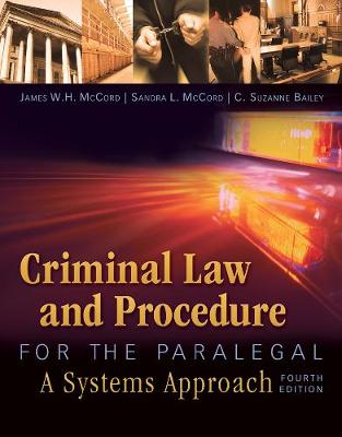 Criminal Law and Procedure for the Paralegal (Paperback)