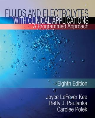 Fluids and Electrolytes with Clinical Applications (Paperback)