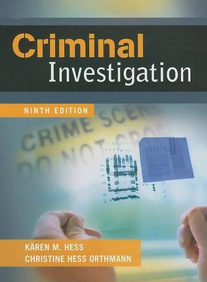 Criminal Investigation (Hardback)