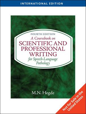 A Coursebook on Scientific and Professional Writing (Paperback)
