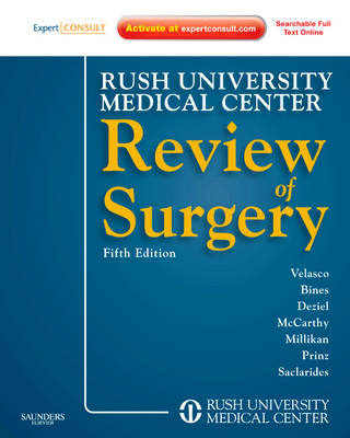 Rush University Medical Center Review of Surgery: Expert Consult - Online and Print (Paperback)