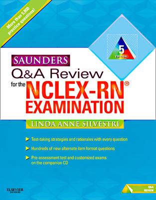 Saunders Q & A Review for the NCLEX-RN Examination (Paperback)