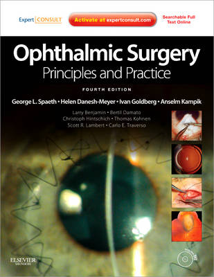 Ophthalmic Surgery: Principles and Practice: Expert Consult - Online and Print (Hardback)