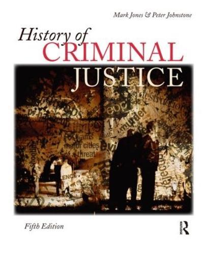 History of Criminal Justice (Paperback)