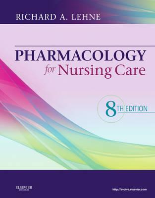 Pharmacology for Nursing Care (Hardback)