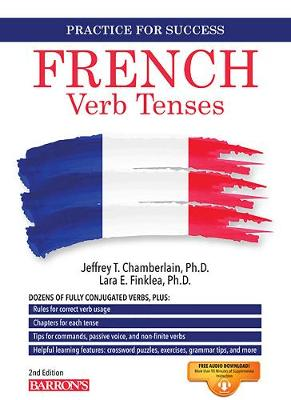 French Verb Tenses - Barron's Verb (Paperback)