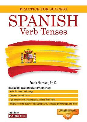 Spanish Verb Tenses - Barron's Verb (Paperback)