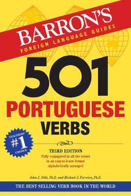 501 Portuguese Verbs - Barron's 501 Verbs (Paperback)