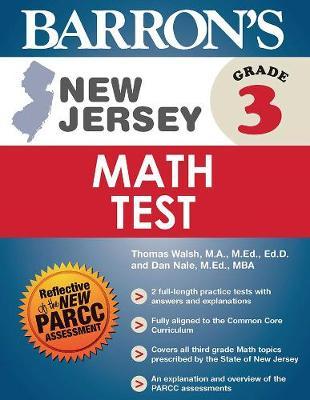 Barron's New Jersey Grade 3 Math Test - Barron's Test Prep NJ (Paperback)