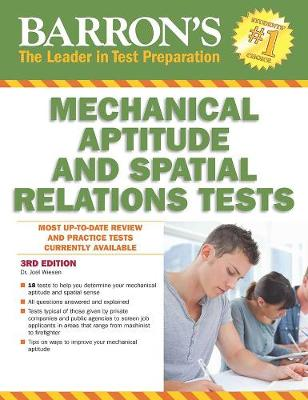 Barron's Mechanical Aptitude and Spatial Relations Test, 3rd Edition (Paperback)