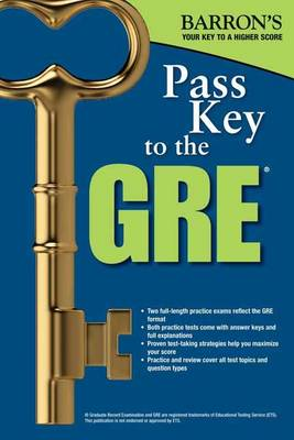 Pass Key to the GRE, 8th Edition (Paperback)