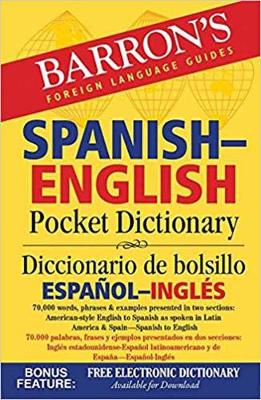 Barron's Spanish-English Pocket Dictionary - Barron's Pocket Bilingual Dictionaries (Paperback)