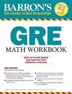 GRE Math Workbook (Paperback)