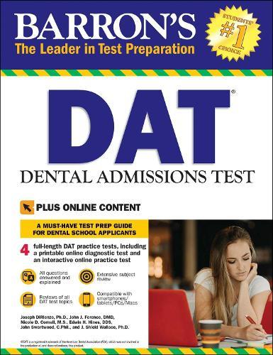 DAT: Dental Admissions Test - Barron's Test Prep (Paperback)