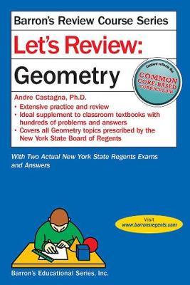 Let's Review Geometry - Barron's Regents NY (Paperback)