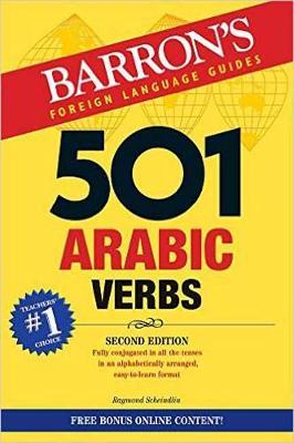 501 Arabic Verbs (Paperback)