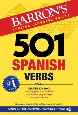 501 Spanish Verbs (Paperback)