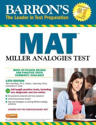 Miller Analogies Test: 12th Ed w/2 online tests (Paperback)