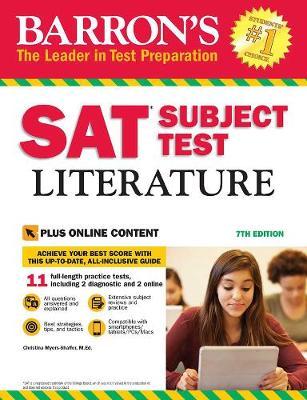 SAT Subject Test Literature: 7th Ed w/online test (Paperback)