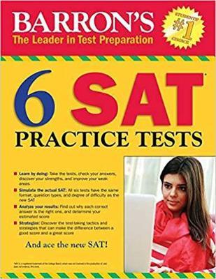 6 SAT Practice Tests (Paperback)